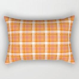 Plaid Tartan Tar Red Stripe Cloth Classic Rectangular Pillow