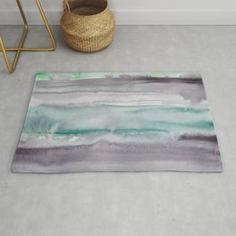 23    190907   Watercolor Abstract Painting Rug