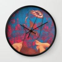 brooklyn Wall Clocks featuring Brooklyn by Kim Leutwyler