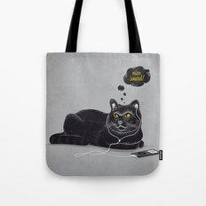 Chilling Cat Tote Bag