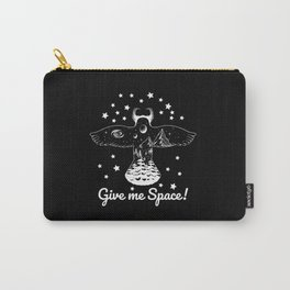 Give Me Space Owl Bird T-Shirt Carry-All Pouch