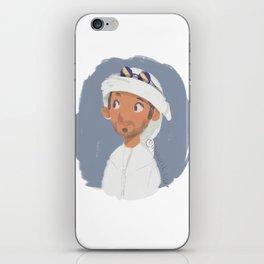 Young Emirati man wearing Hamdaniya iPhone Skin