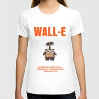 wall e T-shirts featuring Wall-E by FunnyFaceArt