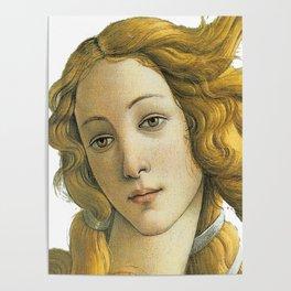 Botticelli Venus Fine Art Classical Renaissance Artist Painting Poster