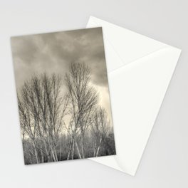 The long winter #2 Stationery Cards