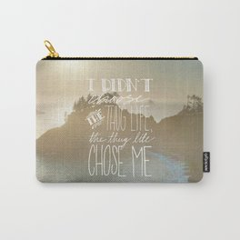 Oddly Placed Quotes 2 : Thug Life Carry-All Pouch