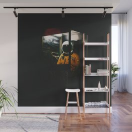 Phone Booth Wall Mural