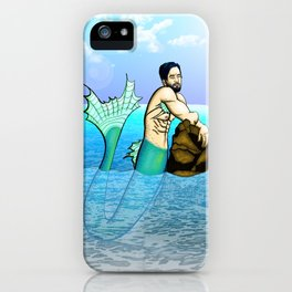 Melancholy Merman iPhone Case