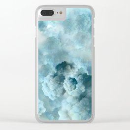 """Cotton clouds Sky"" Clear iPhone Case"