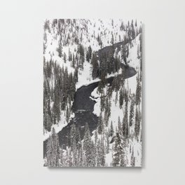 Yellowstone National Park - Lewis River Metal Print