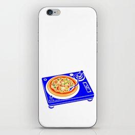 Pizza Scratch iPhone Skin