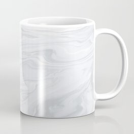 Black & White Marble Coffee Mug