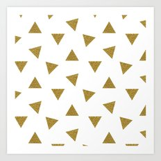 Triangle Party Art Print
