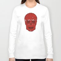 horror Long Sleeve T-shirts featuring horror by creaziz
