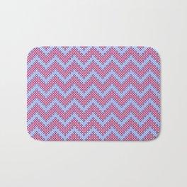 Beady zigzag 1 Bath Mat
