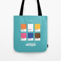reservoir dogs Tote Bags featuring Reservoir Dogs by Rahma Projekt