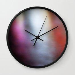 Light Art | Melbourne city (Yarra River- Water Movement) Wall Clock
