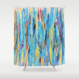 Angoisse Shower Curtain