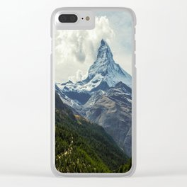 Wander trip sets the Moon Clear iPhone Case
