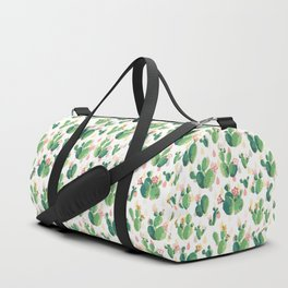 Cactus pattern Duffle Bag