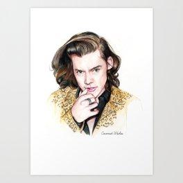 Sexy Harry  Art Print
