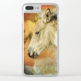 Portrait of a Filly Clear iPhone Case