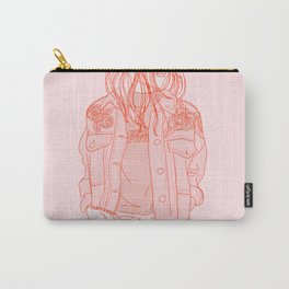 rose embroideries Carry-All Pouch