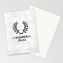 Hipster pride Stationery Cards