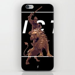To Victory! iPhone Skin