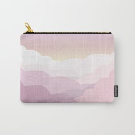 Minimal abstract landscape 01 Carry-All Pouch