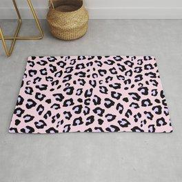 Leopard Print - Lavender Blush Rug