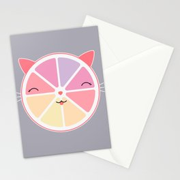 Cat citrus Stationery Cards