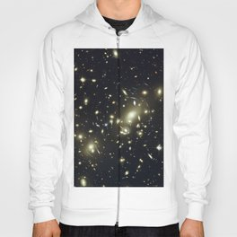 Distant galaxies, Abell 2218. Hoody