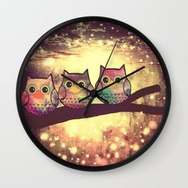 owl 69 Wall Clock
