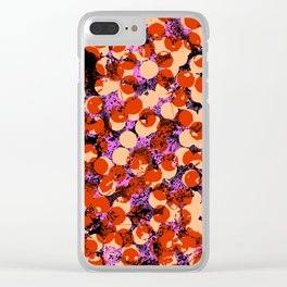 Cherries pattern Clear iPhone Case