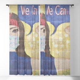 The New Way  Sheer Curtain