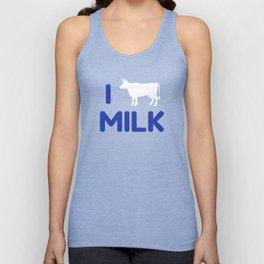 I heart Milk Unisex Tank Top