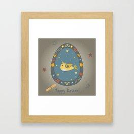 Easter Bird Framed Art Print