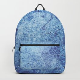 """Lump of a blue moon"" Backpack"