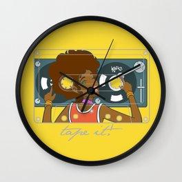 Köpke's Mixtape Wall Clock