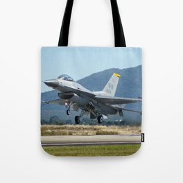 F-16 Fighting Falcon Tote Bag