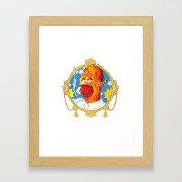 The Chronic Doh'nuts  Framed Art Print