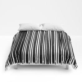 Black Ink | Japanese Atmospheres Comforters