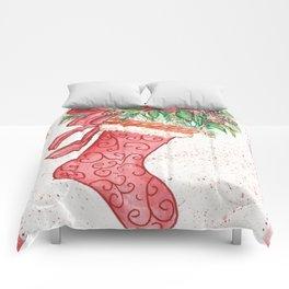 Yuletide Stocking Comforters