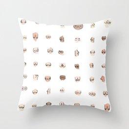 boobs Throw Pillow