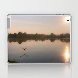 Flight of the heron Laptop & iPad Skin