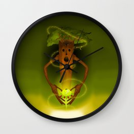 THE BIRTH OF A SEED. Wall Clock