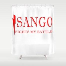 Sango Fights My Battles Shower Curtain