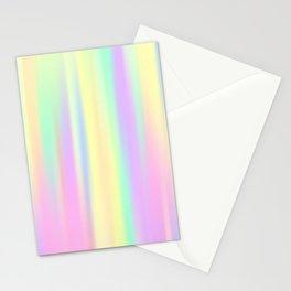 Pastel Rainbow Gradient Stationery Cards