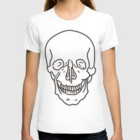skeleton T-shirts featuring Skeleton by FACTORIE